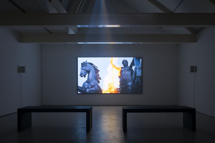 Jessica Warboys, 'Boudica', installation view